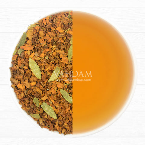 Травяной Чай Куркума с (Turmeric Spiced Herbal Tea Tisane) Пряностями