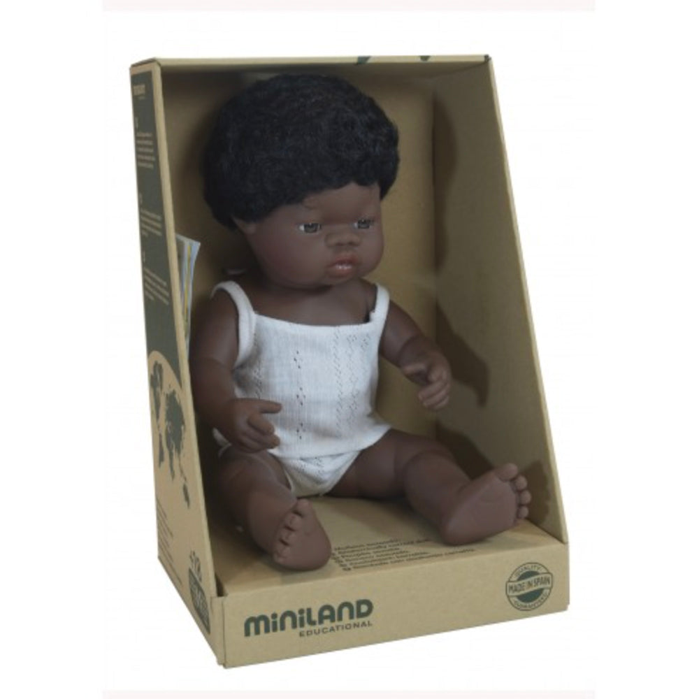 Miniland Anatomically Correct African Boy