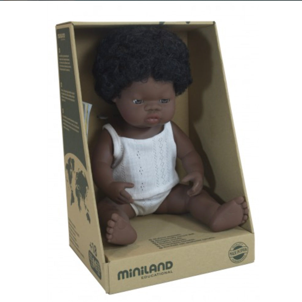 Miniland Anatomically Correct African Girl