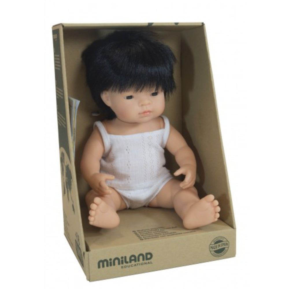 Miniland Anatomically Correct Asian Boy