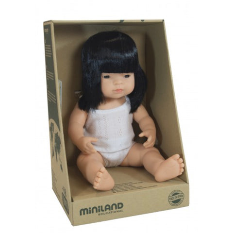 Miniland Anatomically Correct Asian Girl