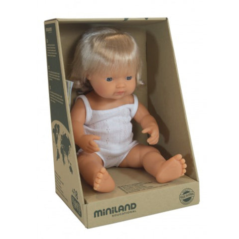 Miniland Anatomically Correct Caucasian Girl