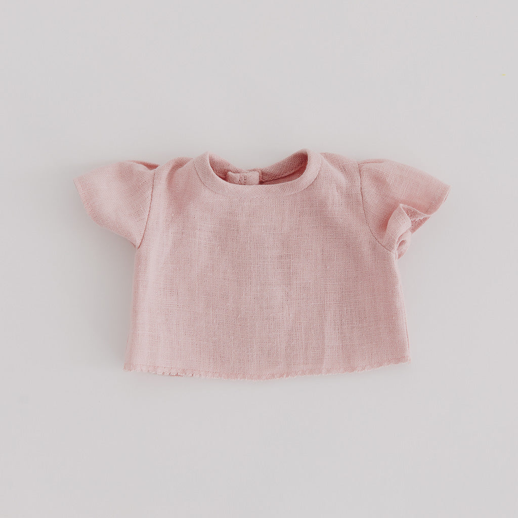 Mauve Linen Dolls Shirt - Pretty in Pine