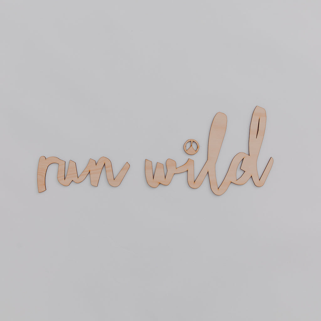 Run Wild - Pretty in Pine