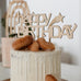 Wholesale Happy Birthday Cake Topper - Pretty in Pine