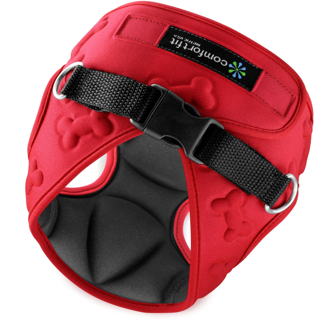 Small Dog Harness - Red