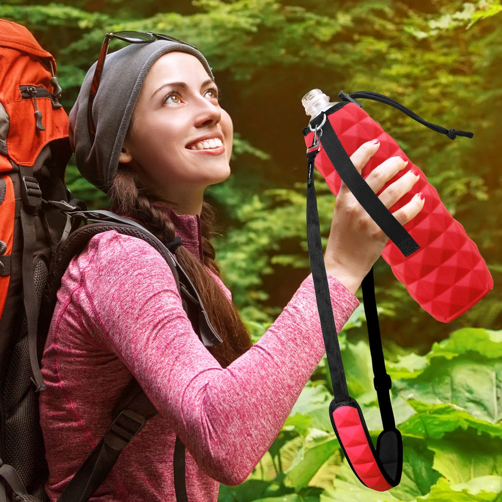 Bottle Holder Carrier - Red