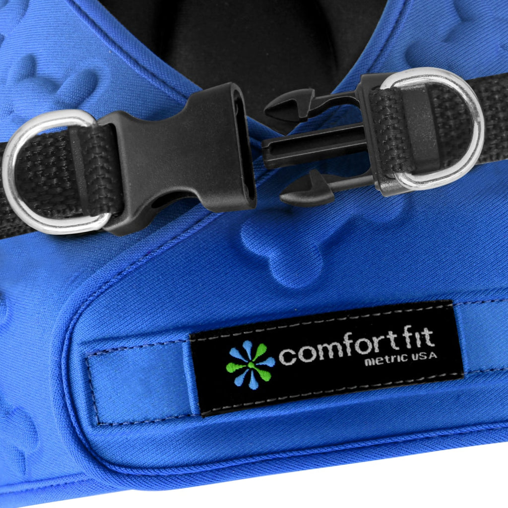 Small Dog Harness - Blue