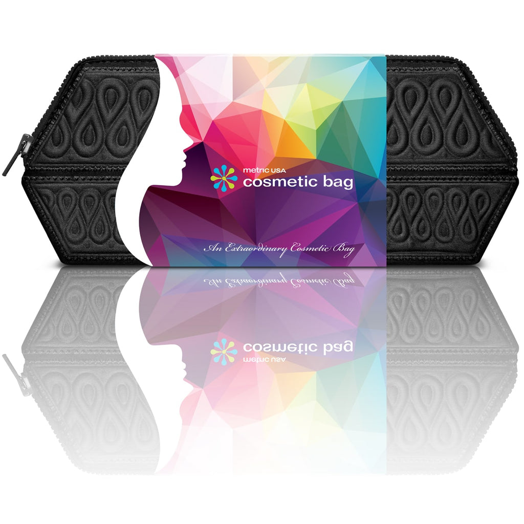 Cosmetic Makeup Bag - Black