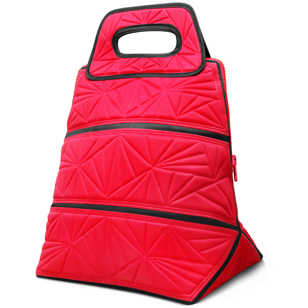 Lunch Tote Bag - Red