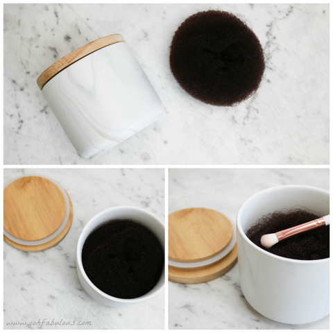 DIY Dry Brush Cleaner