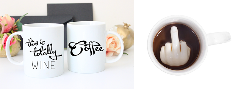Cheeky Mint Gifts for Coffee Addicts