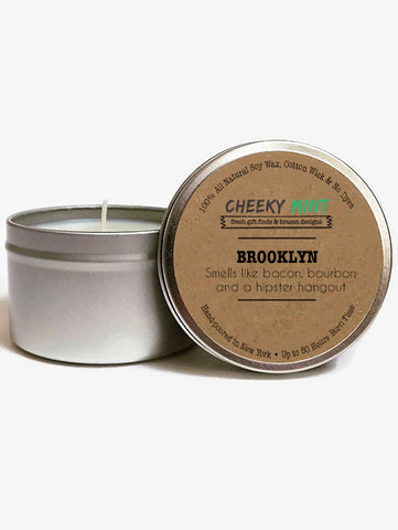 Brooklyn Bourbon Bacon Soy Candle