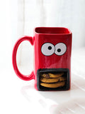 Cookie Monster Mug with Lid Cheeky Mint