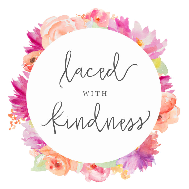 Laced with kindness Logo