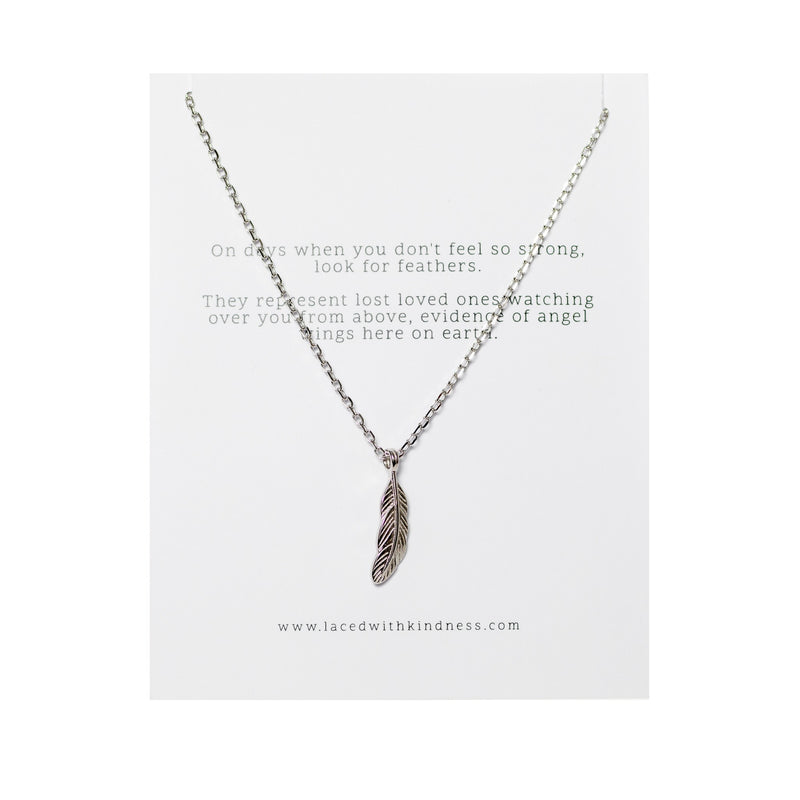 Brave - Feather necklace
