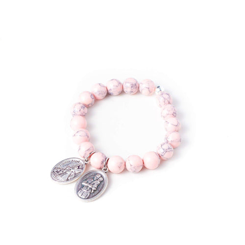 crystal-jewellery-for-gifts BRACELET | BLUSH MAGNESITE