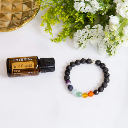 crystal-jewellery-for-gifts | BRACELET | CHAKRA WITH OIL