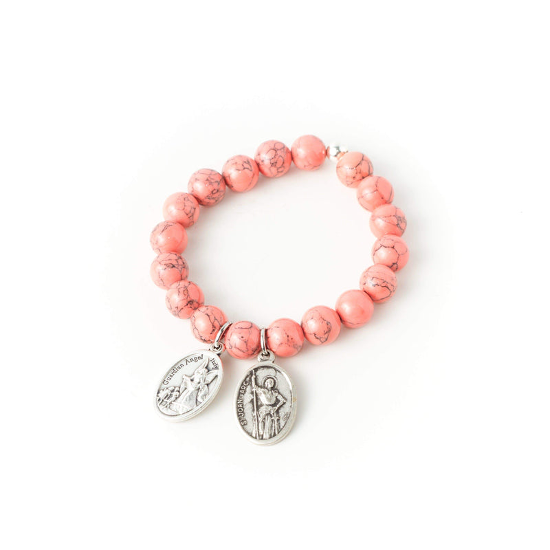 crystal-jewellery-for-gifts BRACELET | CORAL MAGNESITE