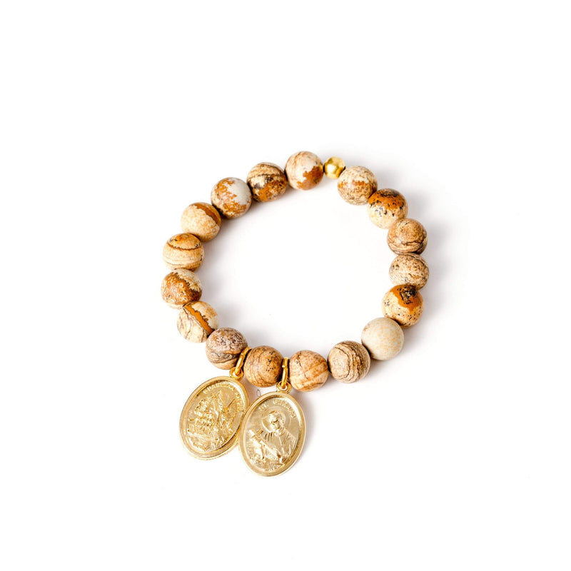 crystal-jewellery-for-gifts BRACELET GOLD | JASPER