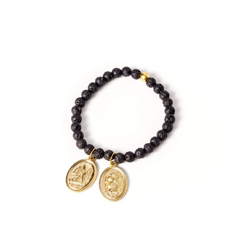 crystal-jewellery-for-gifts BRACELET GOLD | LAVA SMALL