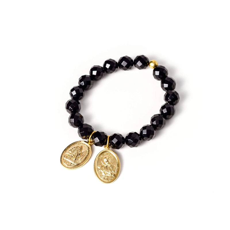 crystal-jewellery-for-gifts BRACELET GOLD | ONYX