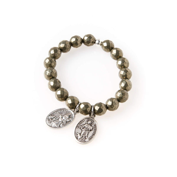 crystal-jewellery-for-gifts BRACELET | PYRITE