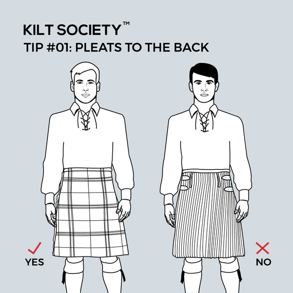 TIP #01: PLEATS TO THE BACK