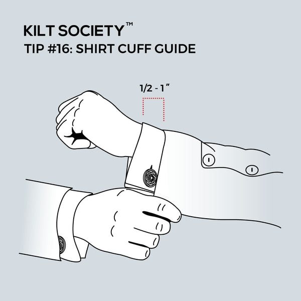 TIP #16: SHIRT CUFF GUIDE