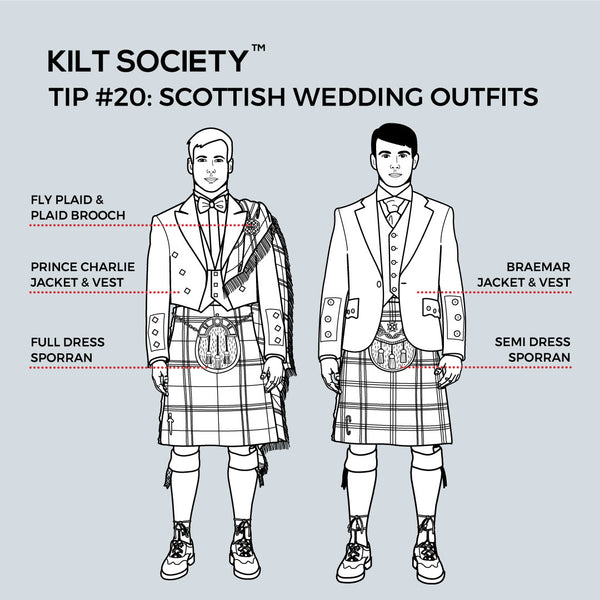 TIP #20: SCOTTISH WEDDING OUTFITS