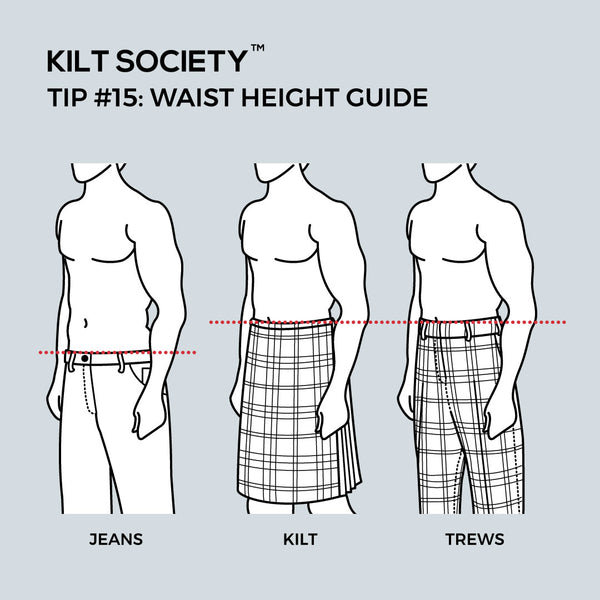 TIP #15: WAIST HEIGHT GUIDE