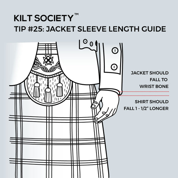 TIP #25: JACKET SLEEVE LENGTH GUIDE