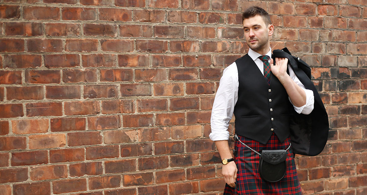 zKilt Society Outfit - 5 Button Prince Charlie Waistcoat