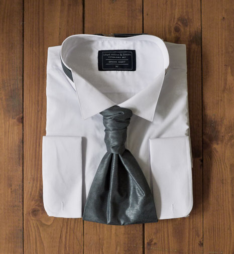 Wedding Shirt and Tie