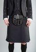 Black 8 Yard Kilt