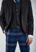 Persevere Thistle Blue Tartan Trews