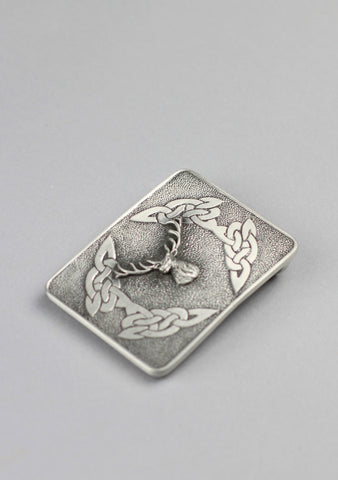 Celtic Stag Cast Buckle