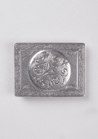 Triskell Pewter Buckle