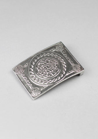 Celtic Knot Pewter Buckle