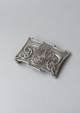 Highland Cow Mount Buckle