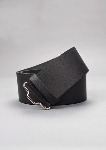 Custom Made Plain Leather Kilt Belt