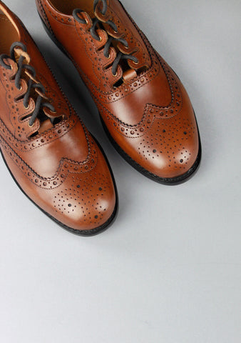 Traditional Goodyear Welted Ghillie Brogue