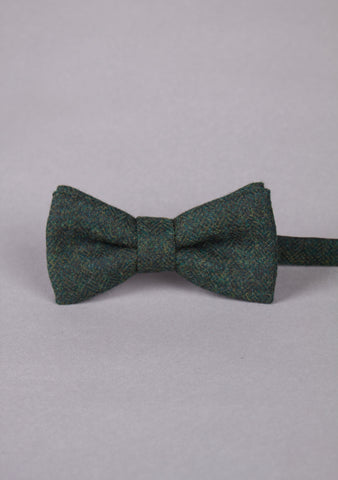 British Made Tweed Bow Tie