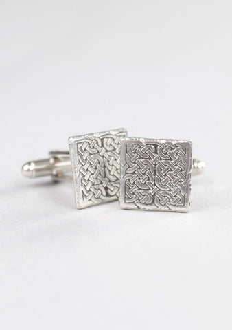 Square Celtic Cufflinks