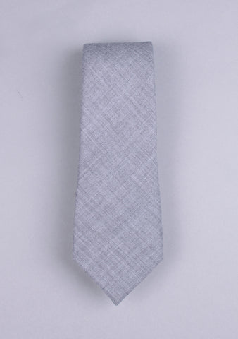 Slim Fit Wool Neck Tie