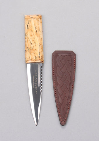 Natural Heather Handle Sgian Dubh