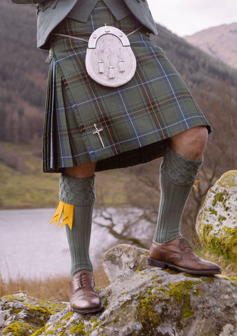 Henderson Muted Tartan Custom Made Kilt