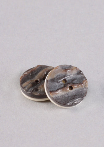 Imitation Horn Buttons- Pack of 3