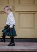 Persevere Weathered Brown Tartan Kids Kilt