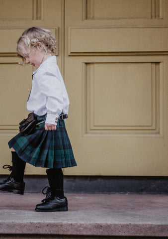 Black Watch Tartan Kids Kilt